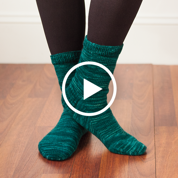 Go Your Own Way Top Down Socks