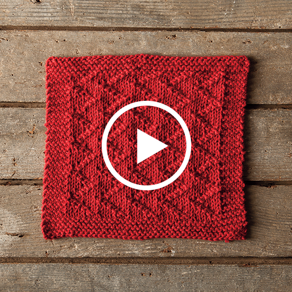 Knit a ZickZack Dishcloth