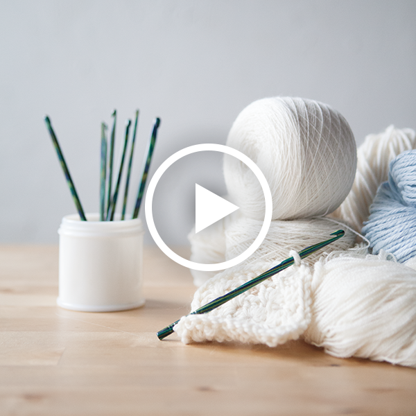 Learn to Crochet: Broomstick Lace