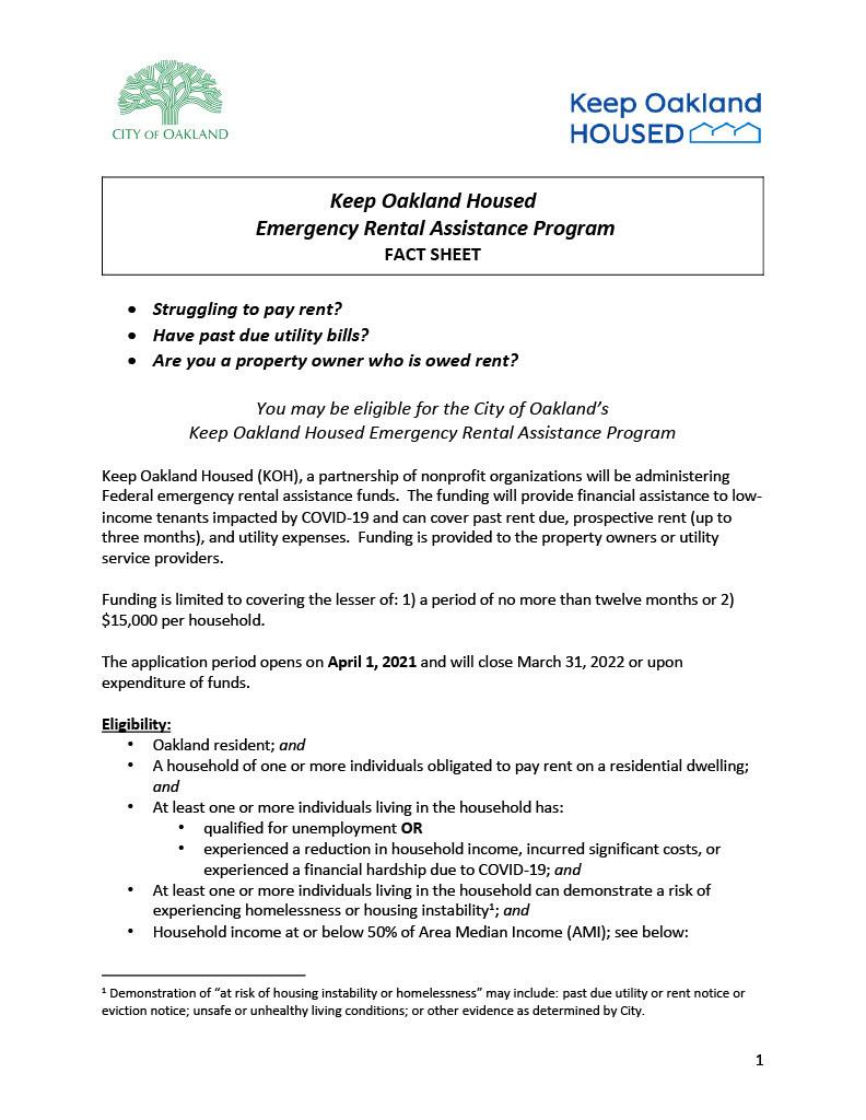 ERAP fact sheet page 1