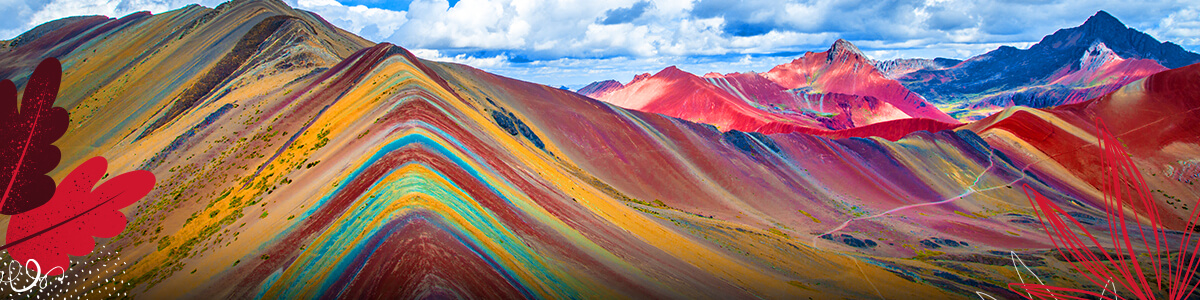 Individual Montaña 7 Colores 1200X300