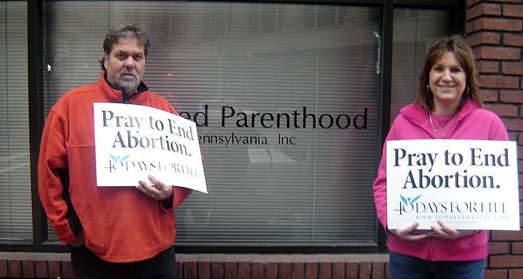 Planned Parenthood Staffer Coughs on Pro-Life People Praying Outside, Prompting Coronavirus Fears