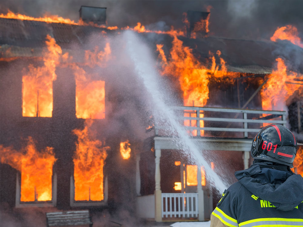 fire damage restoration needed after house fire