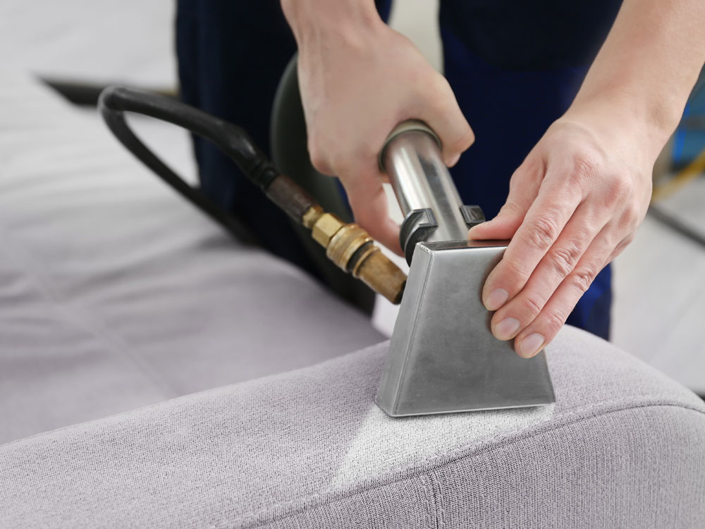 professional furniture cleaning as part of crime scene cleanup