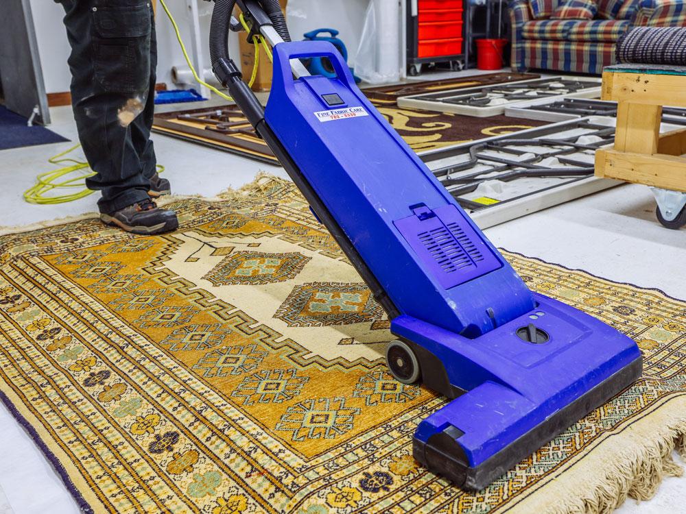 area rug cleaning vacuum