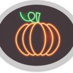Neon Pumpkin