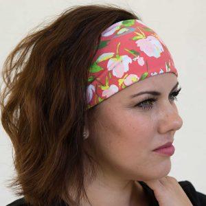 nurse headband peach blossom