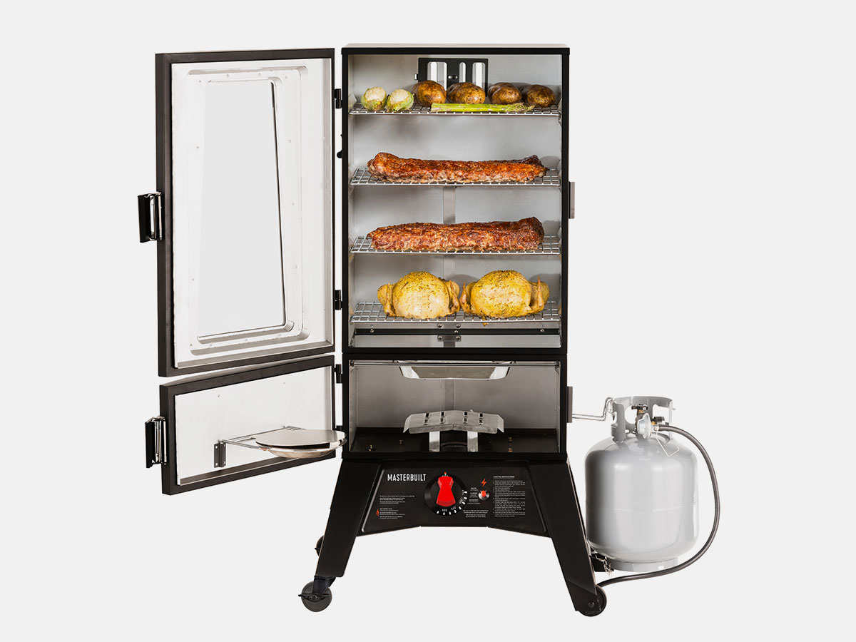 Four racks give you enough space to cook for a crowd