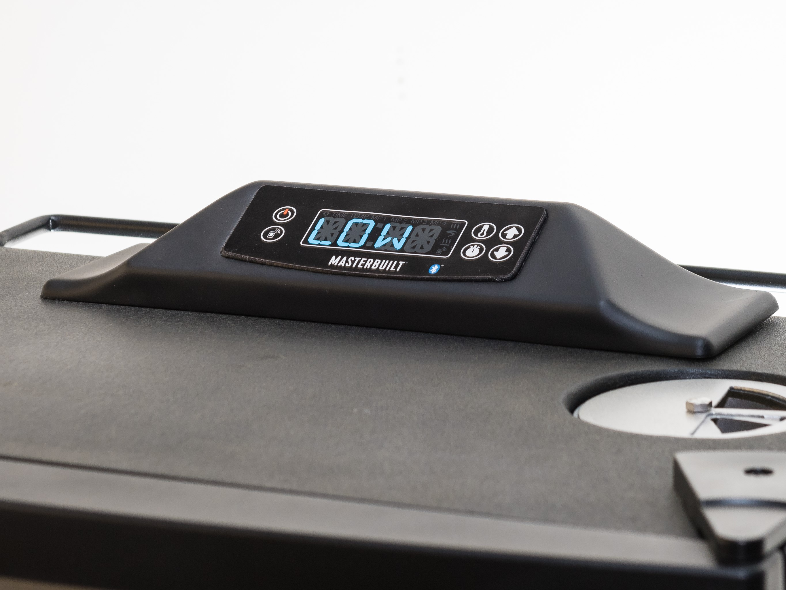 The digital control panel gives you precise control