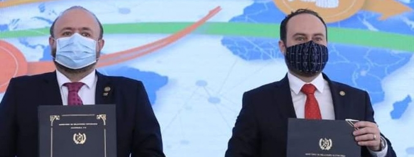 Pedro Brolo y Antonio Maluf