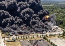 Incendio en planta de Estados Unidos