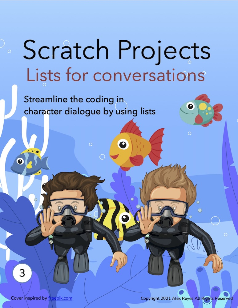 Scratch multiple character dialogue