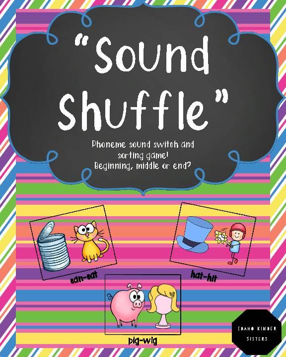Sound Shuffle Sort-Phonemic Awareness