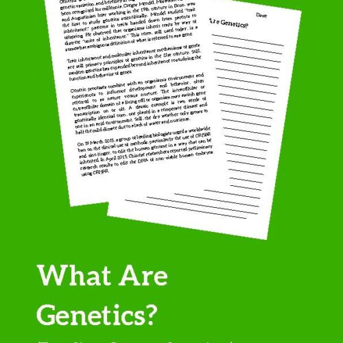 Genetics (Reading Comprehension)