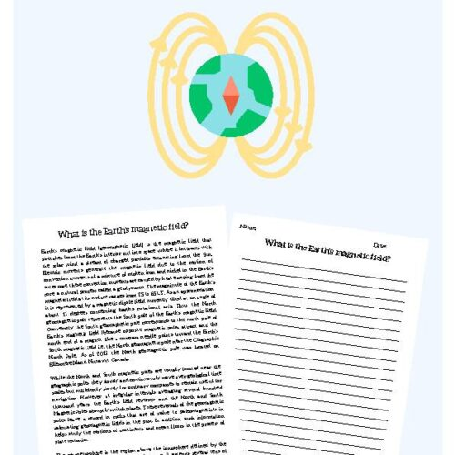 Earth's Magnetic Field, Reading Passage