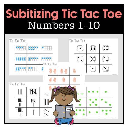 Subitizing Tic Tac Toe