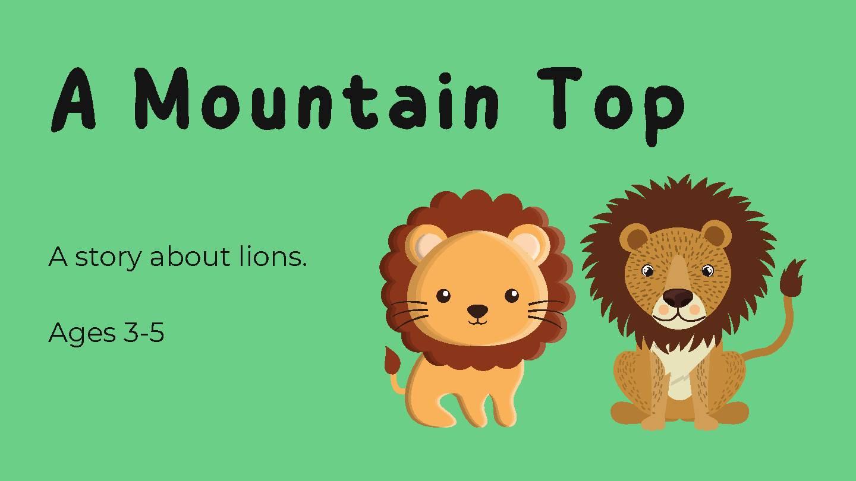 A Mountain Top (Short Story)