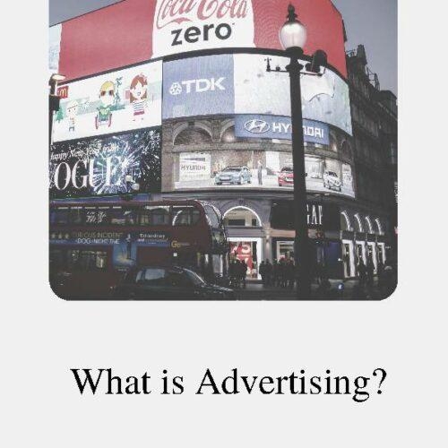 Advertising, Reading Passage