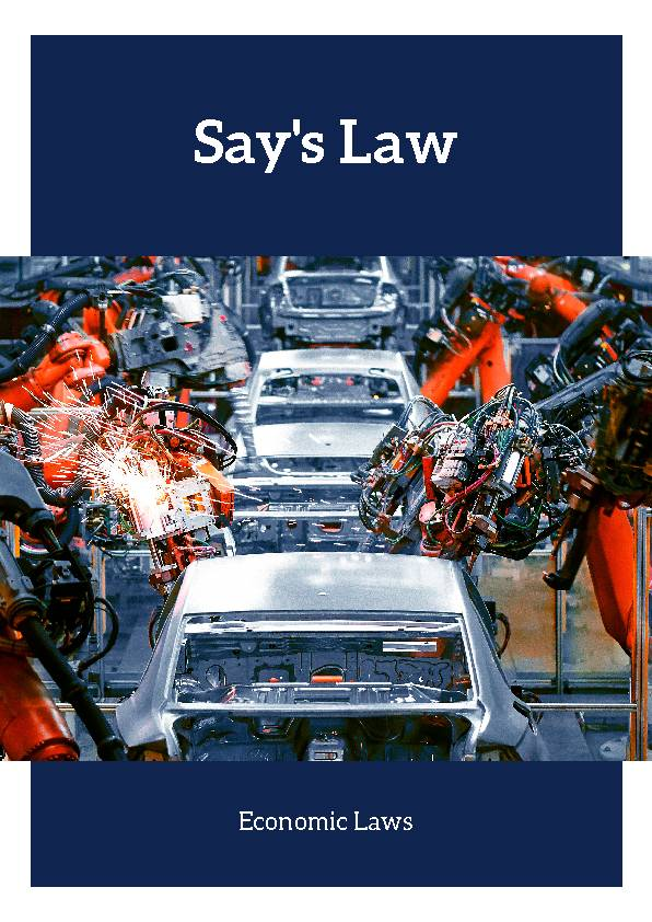 Say's Law (Economic Laws)