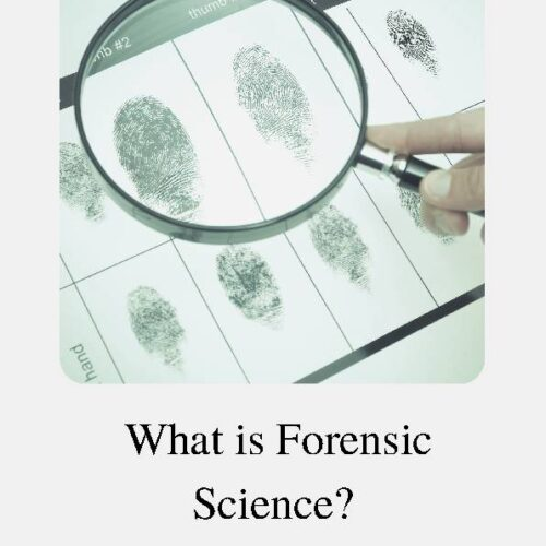 Forensic Science, Reading Passage