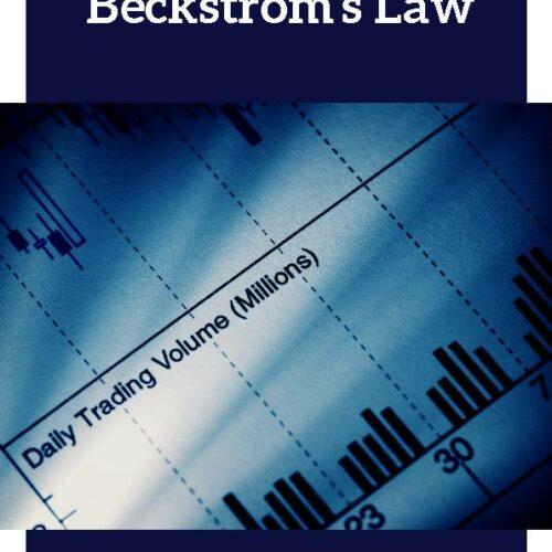 Beckstrom's Law (Economics Laws)