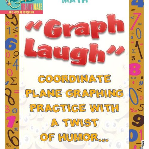 Coordinate Plane Graphing with a Twist of Humor (ordered pairs)