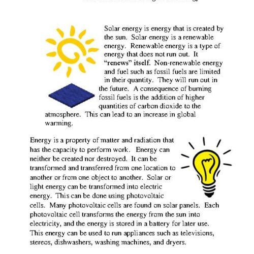 Minecraft: Harvesting Solar Energy PDF's featured image