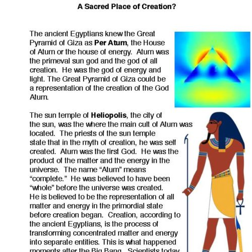 The House of Atum A Sacred Place of Creation? PDF
