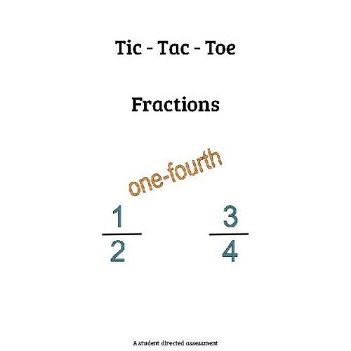 Fraction Tic-Tac-Toe
