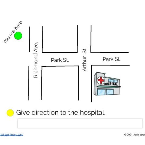 GIVE DIRECTION TO THE STREET