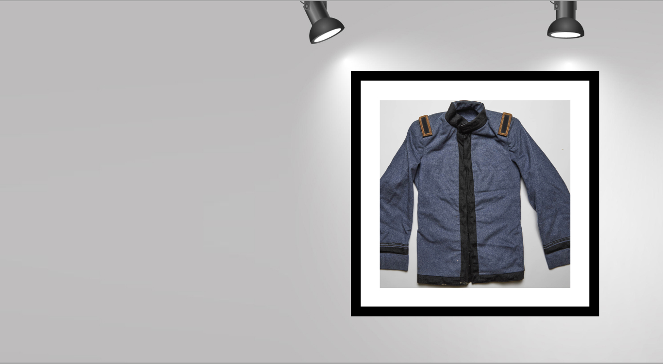 blue, old corps jacket