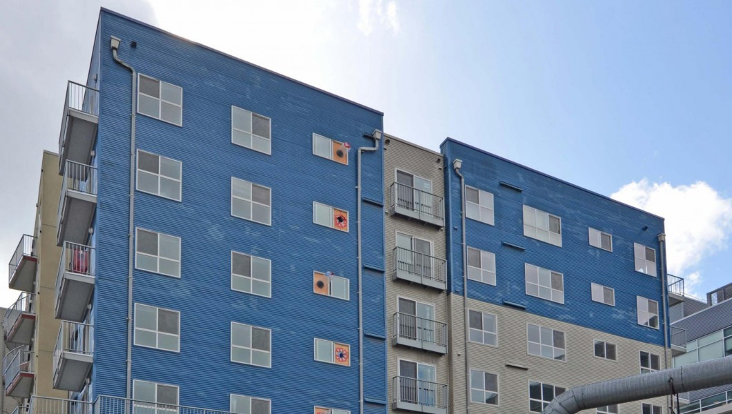 Pete Gross House Building Renovation - Eastlake, Seattle, Washington