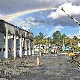 Bellevue Ford Fire