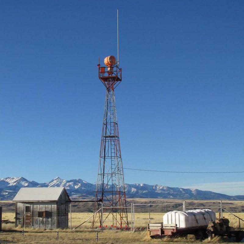 Big timber tower