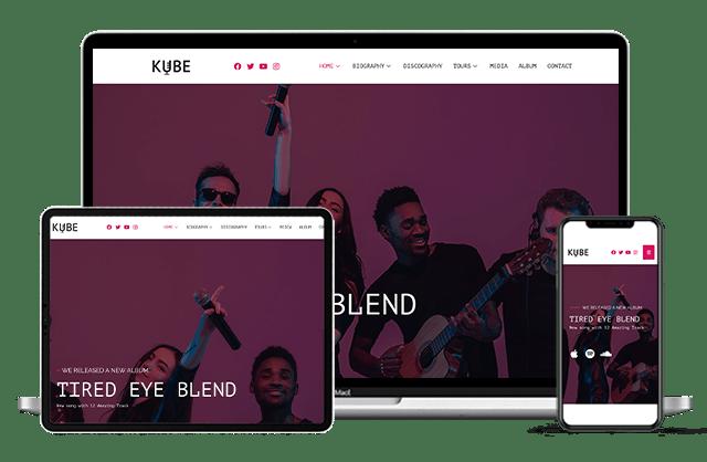 Music,DJ,Brand - Web Pixel Pro