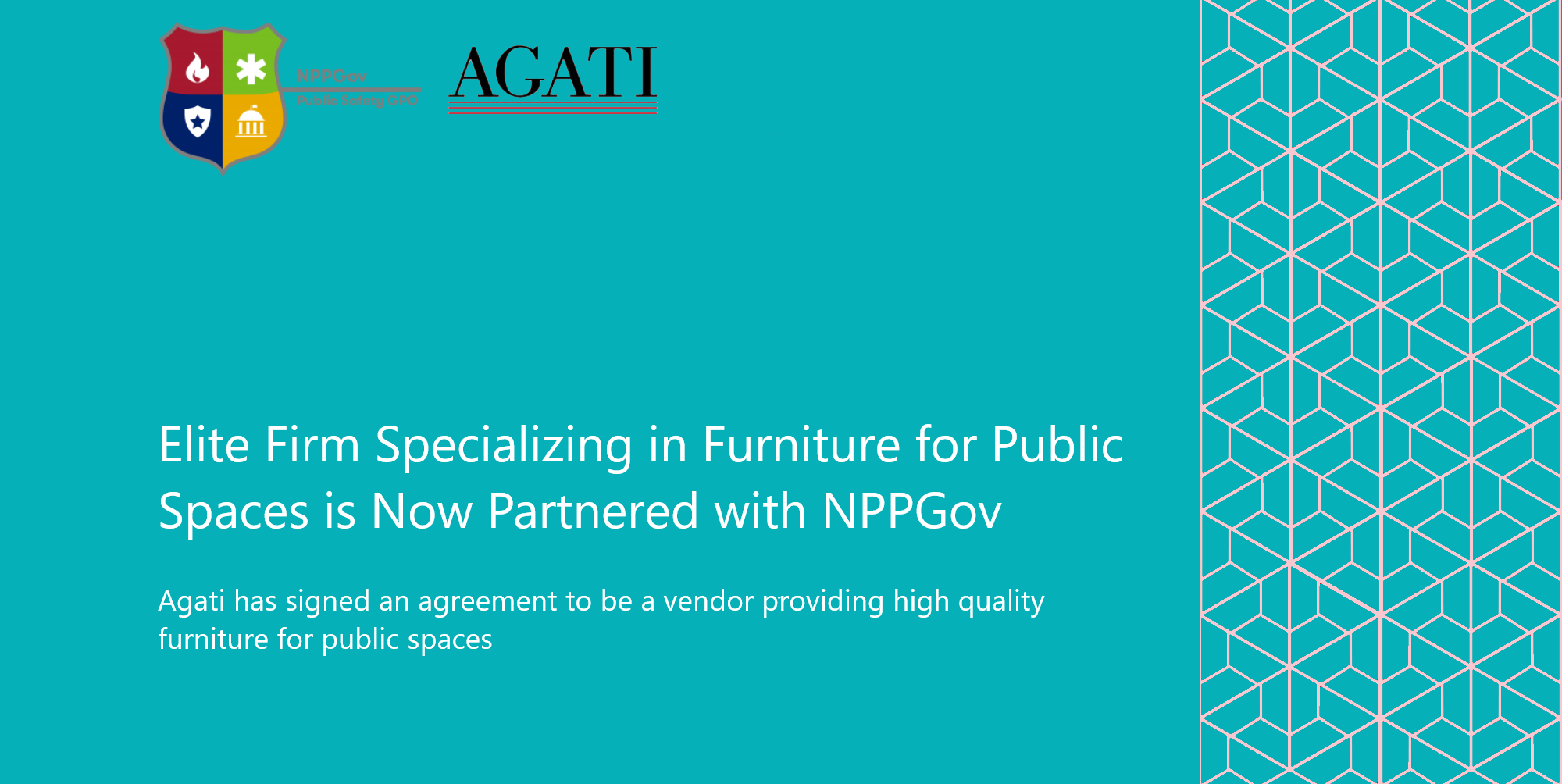 Elite Firm Specializing in Furniture for Public Spaces is Now Partnered with NPPGov