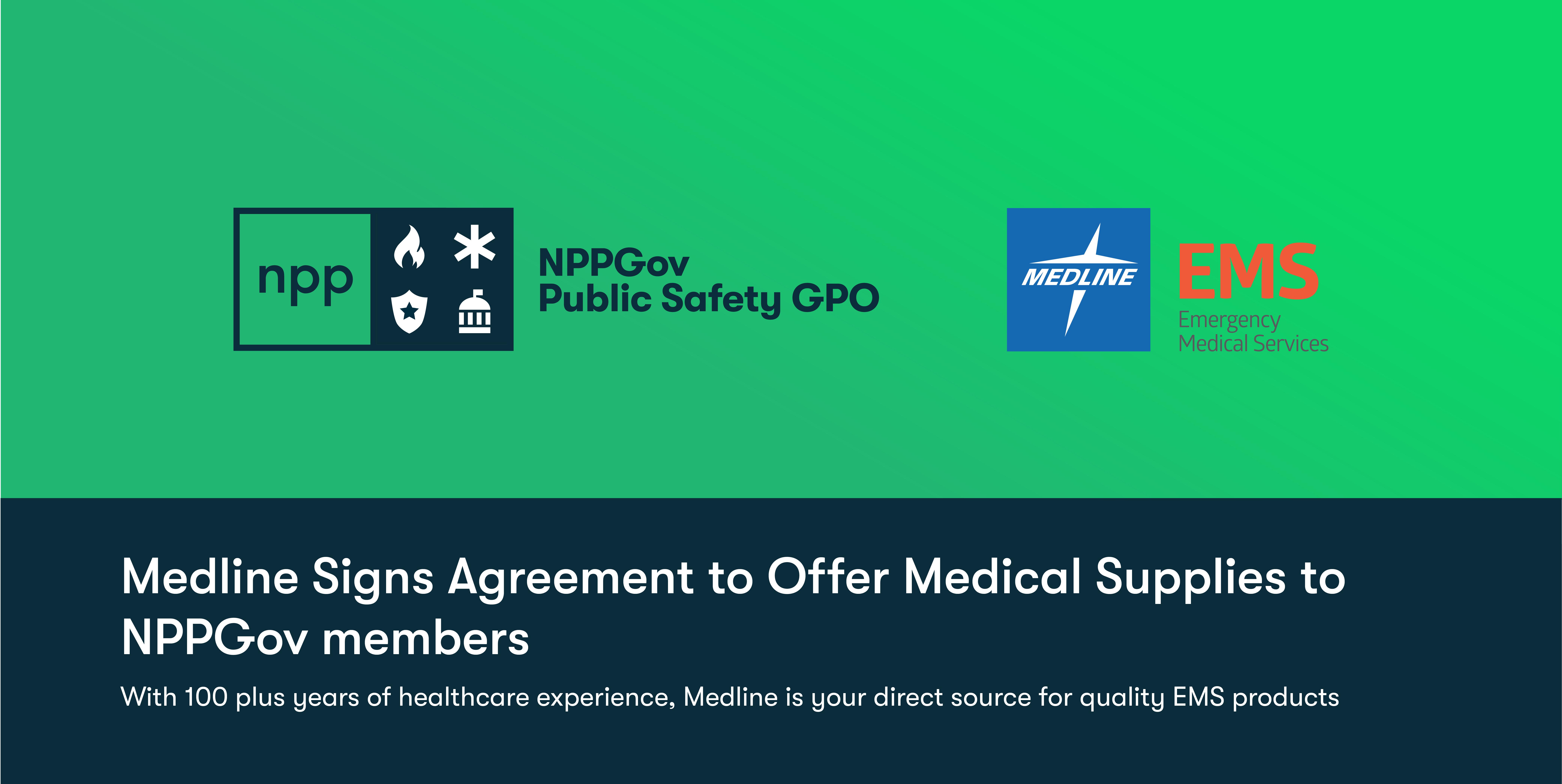 Medline Joins NPPGov as an Approved Vendor Offering Top-Notch Medical Supplies
