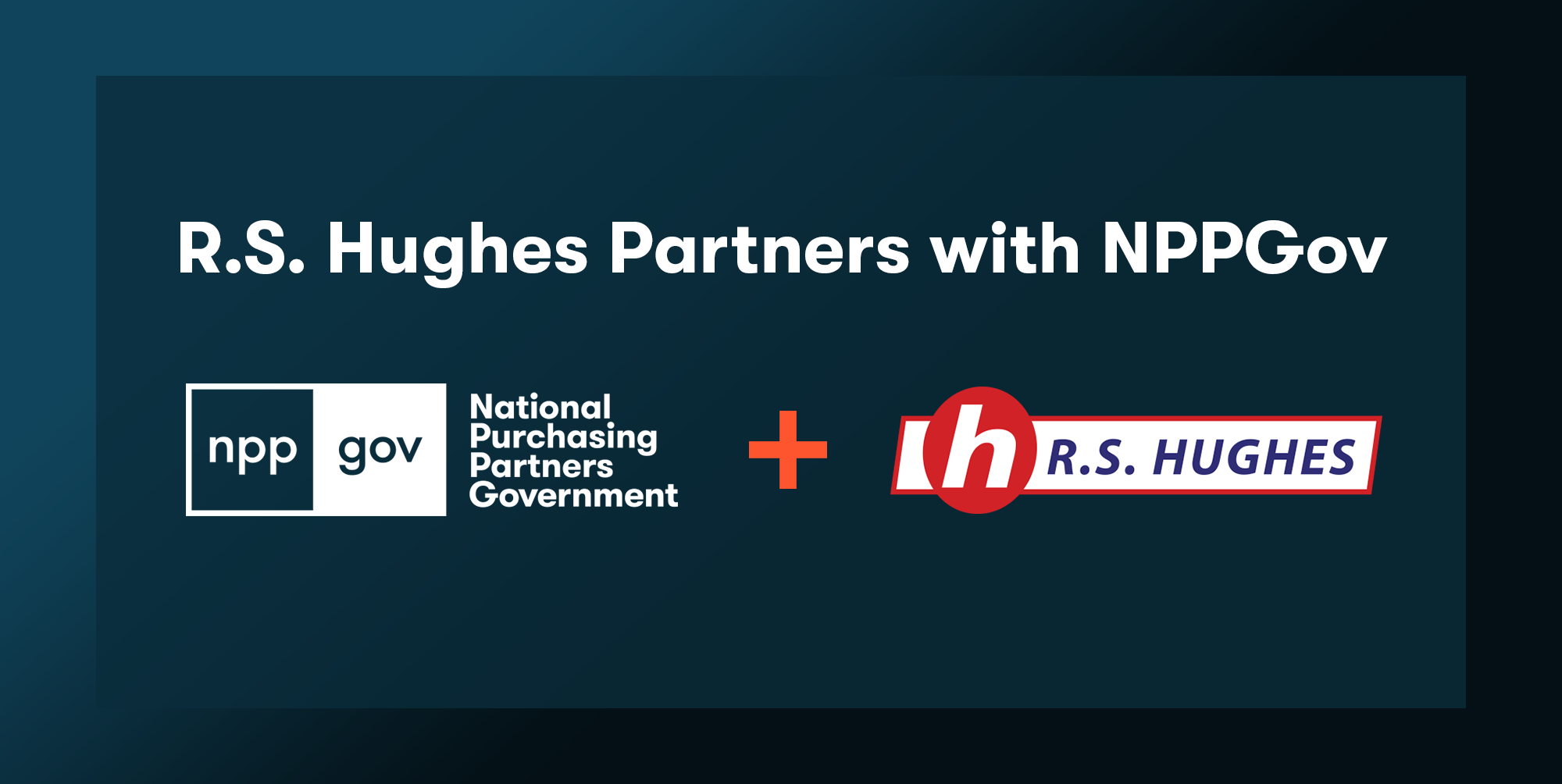 R.S. Hughes Partners with NPPGov