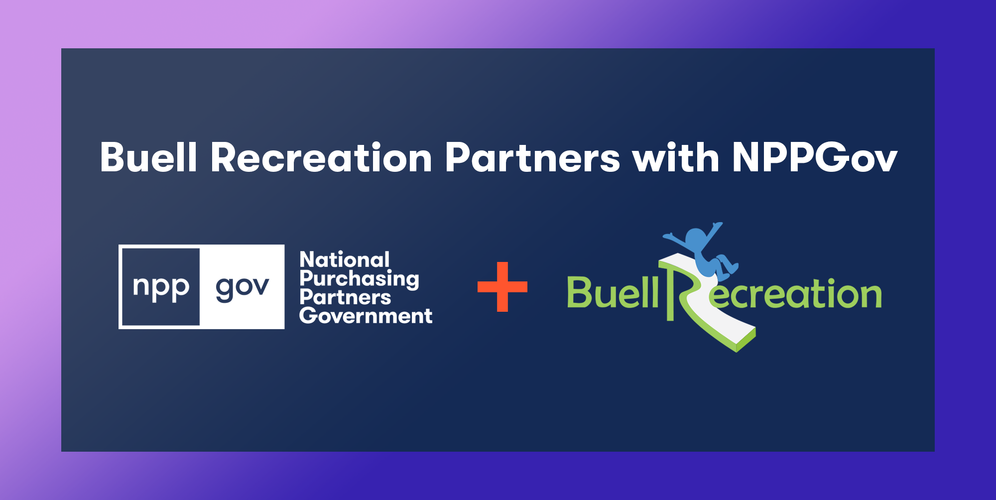 Buell Recreation, LLC Partners with NPPGov
