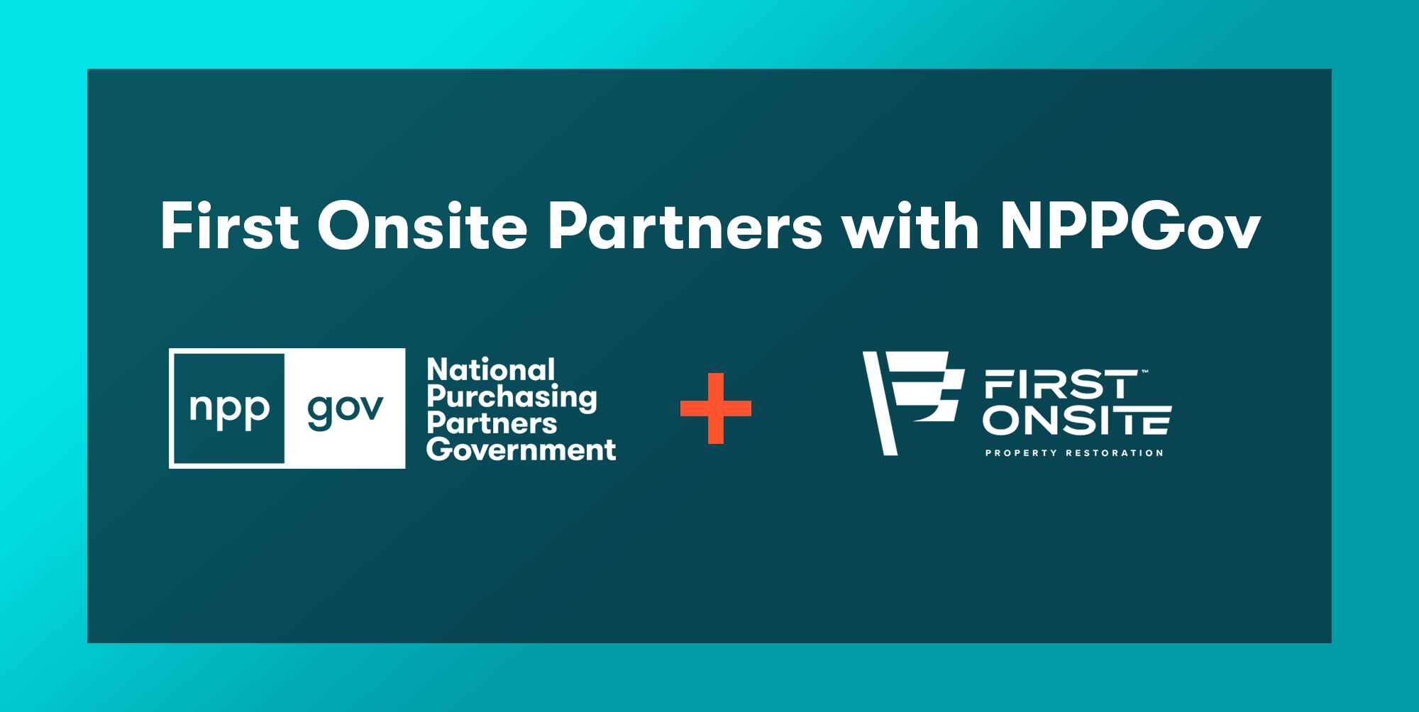 First Onsite Partners with NPPGov