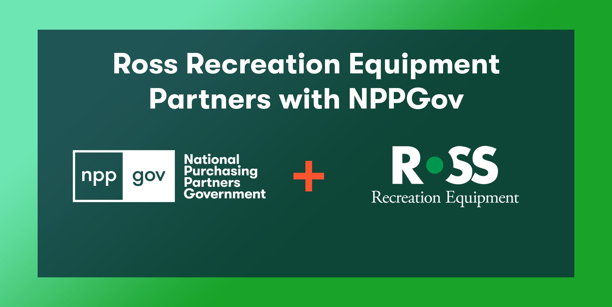 Ross Recreation Partners with NPPGov