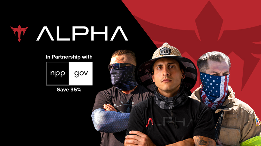 NPPGov Partners with Alpha Defense Gear