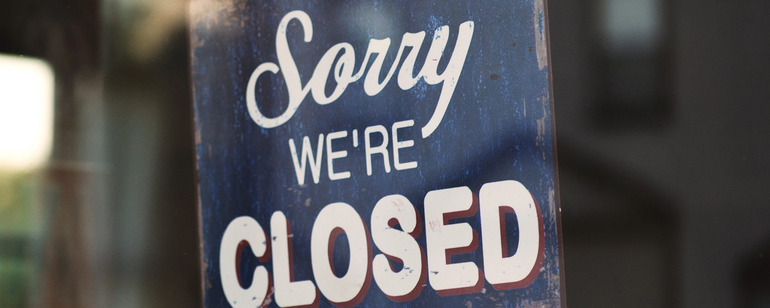 Events cancellation and facilities closure due to coronavirus ...