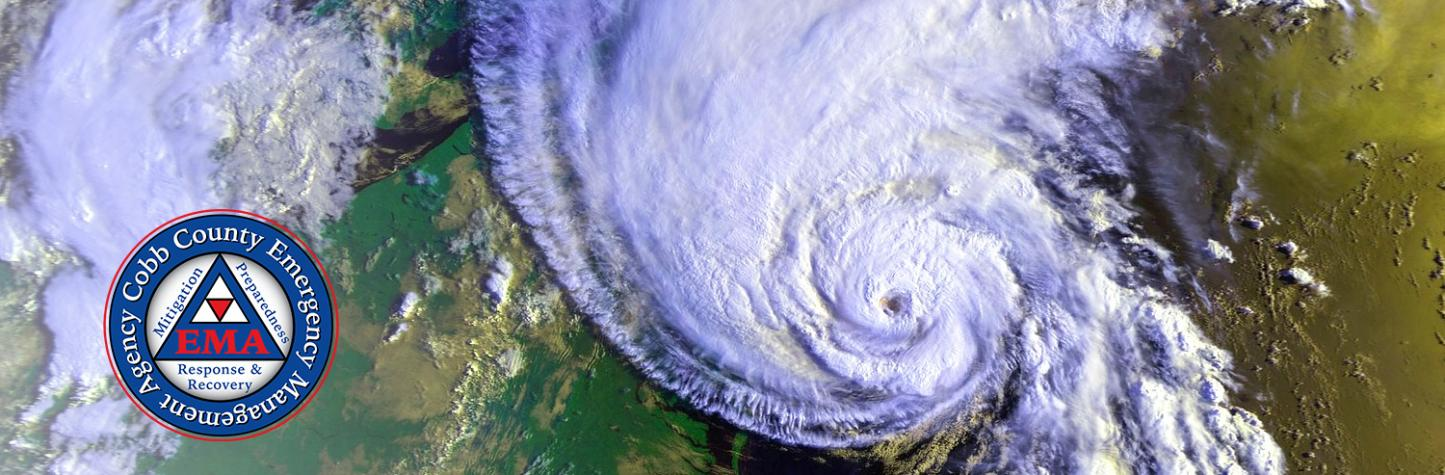 Hurricane satellite