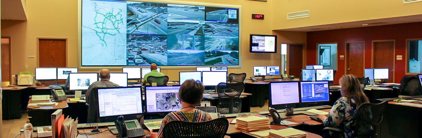 Traffic Management Center Command Room