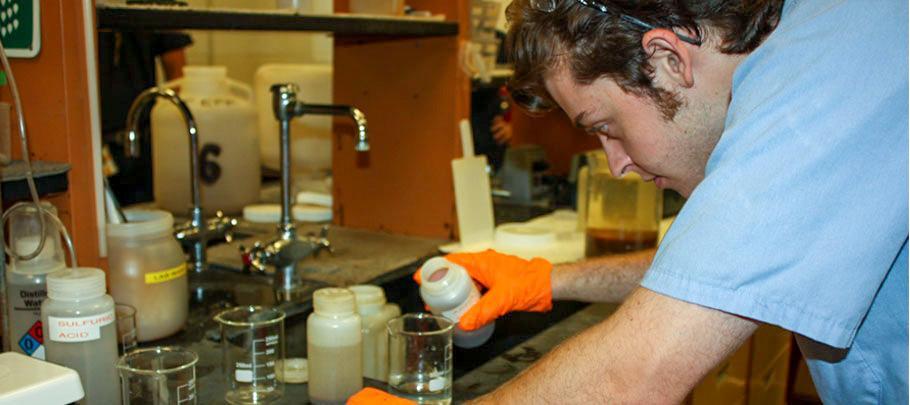 Wastewater Plant Lab