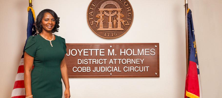District Attorney Joyette Holmes