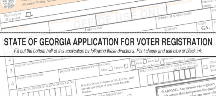 E&R Images - Voter Registration Application