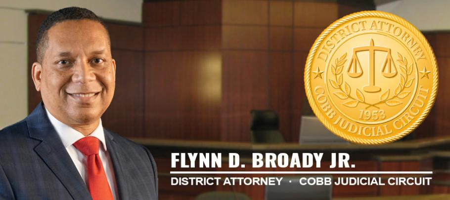 District Attorney Cobb Judicial Circuit Broady Flynn
