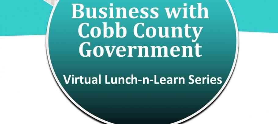 How to Do Business with Cobb County - webinar March 2021
